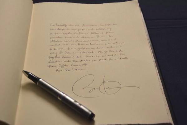 Condoléances de Barack Obama