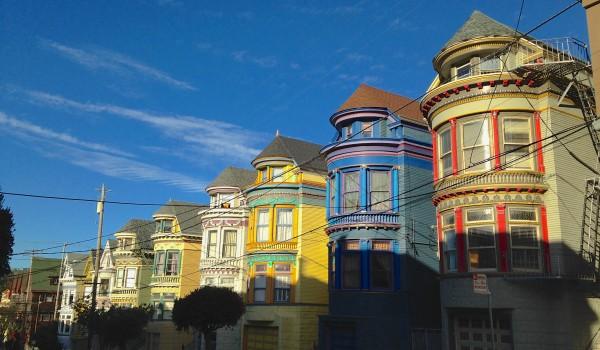 Pourquoi les maisons de san francisco sont elles de toutes for Adresse maison bleue san francisco