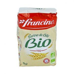 Farine de blé bio – Francine