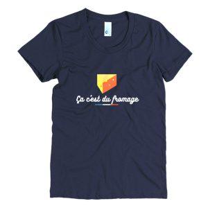 T-shirt - Ça c'est du fromage