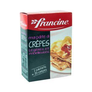 Pâte à crêpes - Francine