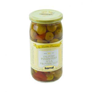 Olives pimentés à la Provençale - Barral