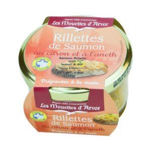 Rillettes de saumon - Les Mouettes d'Arvor