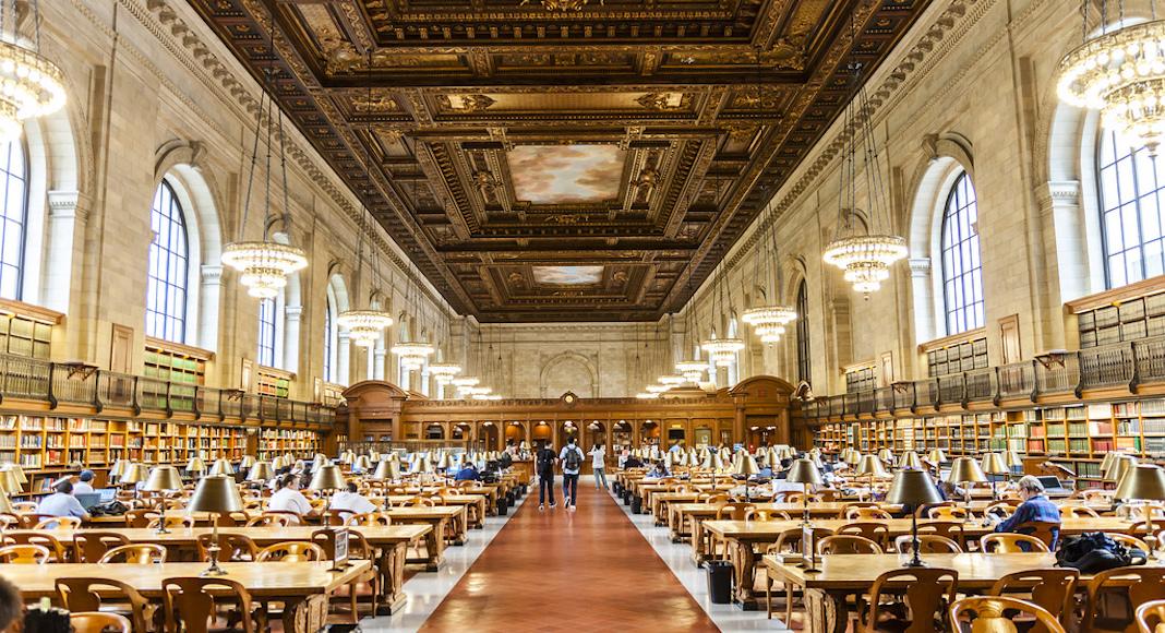 New York Public Library, 476 5th Ave, ouverte tous les jours.