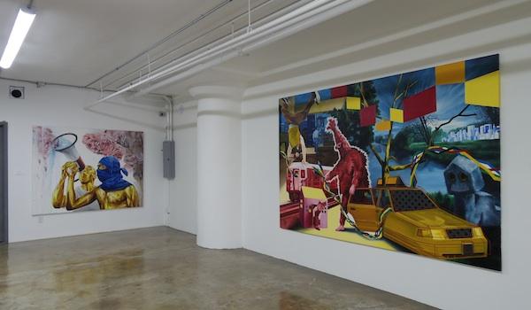 Dimitri Lorin a mis un an et demi à trouver le local de la galerie.