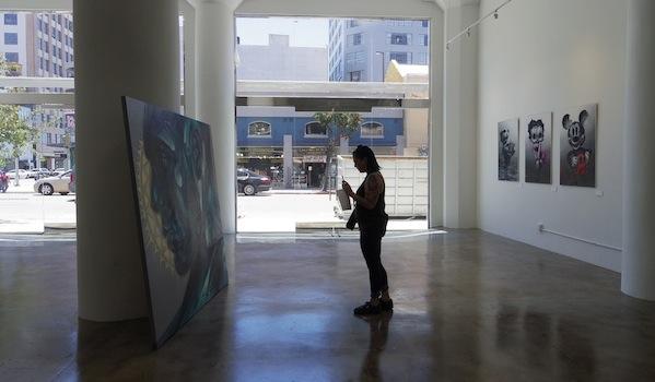 """Dimitri Lorin veut faire de cette galerie """"un espace de vie""""."""