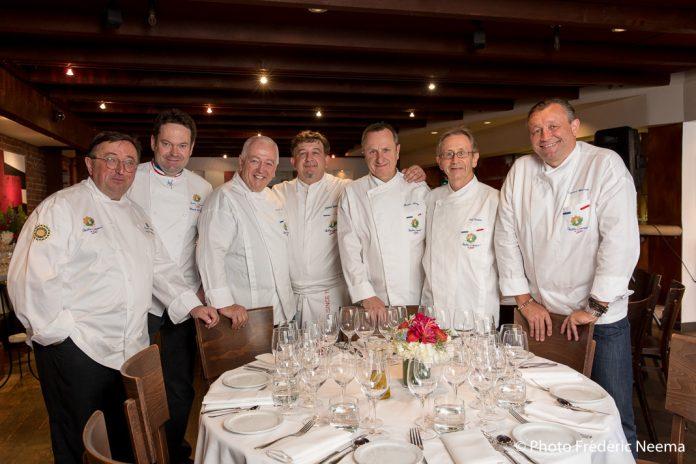 San francisco sept chefs fran ais r coltent des fonds for Cuisine xavier laurent