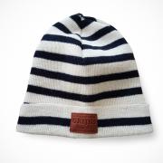 Bonnet Le Pyrénéen stripe marine