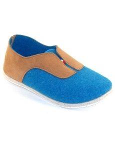 Slipper Bandiat Blue by Manufacture Degorce