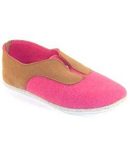 Slipper Bandiat Pink by Manufacture Degorce