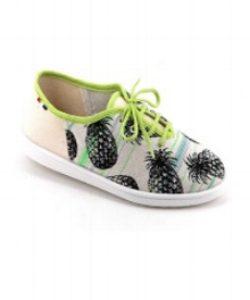 Sneaker Estives Green & Black Pineapple