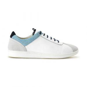 Sneakers Match Point white bleach denim