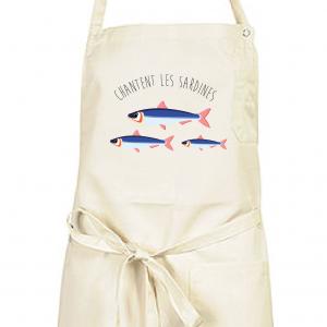Tablier Chantent les Sardines