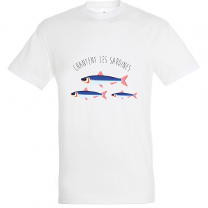 T-shirt Chantent les Sardines