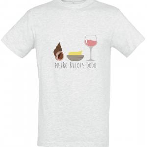 T shirt metro bulot dodo