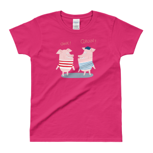 """Cochons"" – T-shirt femme"