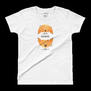 """""""Lundi vs. Vendredi"""" – T-shirt femme"""