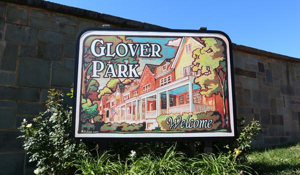 """Boisé et paisible, Glover Park, l""""Upper Georgetown"""" résumé en une image."""