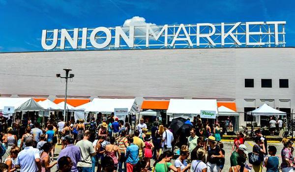 Union Market, l'un des principaux atouts du quartier de Noma. (crédit Union Market)