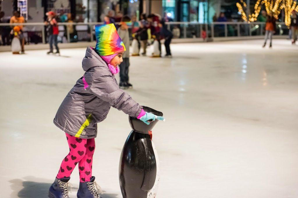 Photo credit: Pentagon Row Ice Skating Rink
