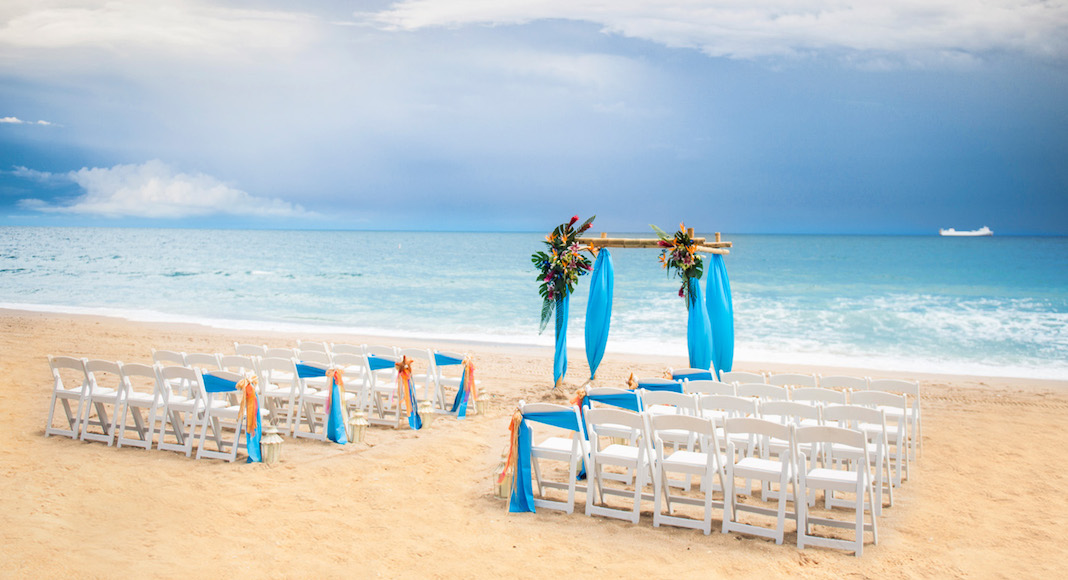 mariage plage fort lauderdale