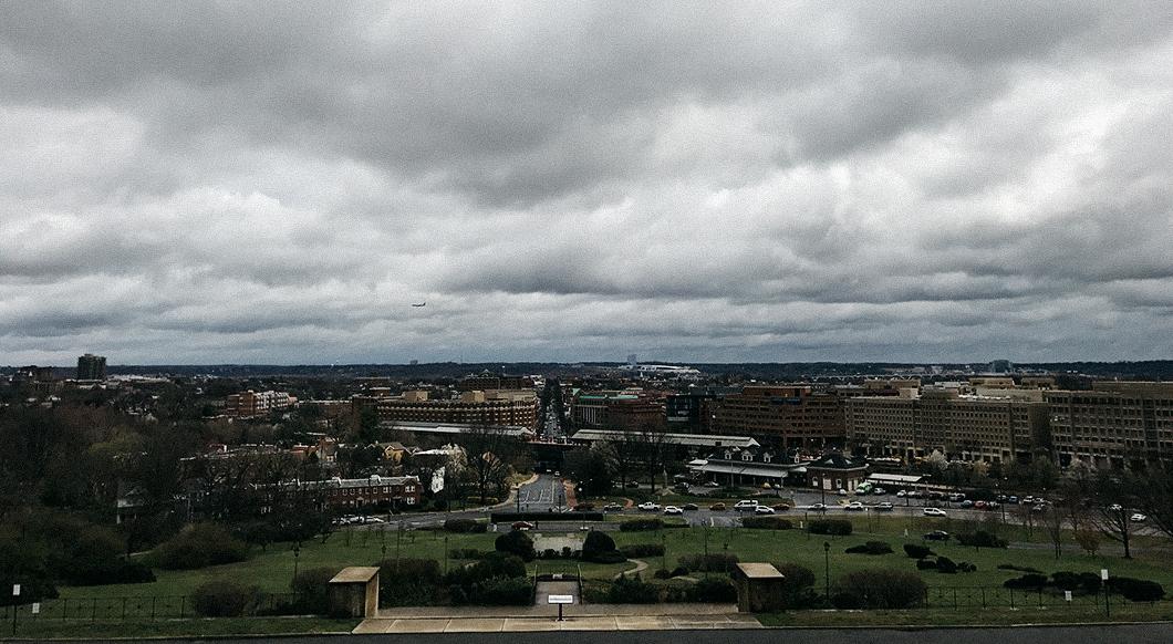 Depuis le temple Masonic, la vue sur Alexandria est unique.