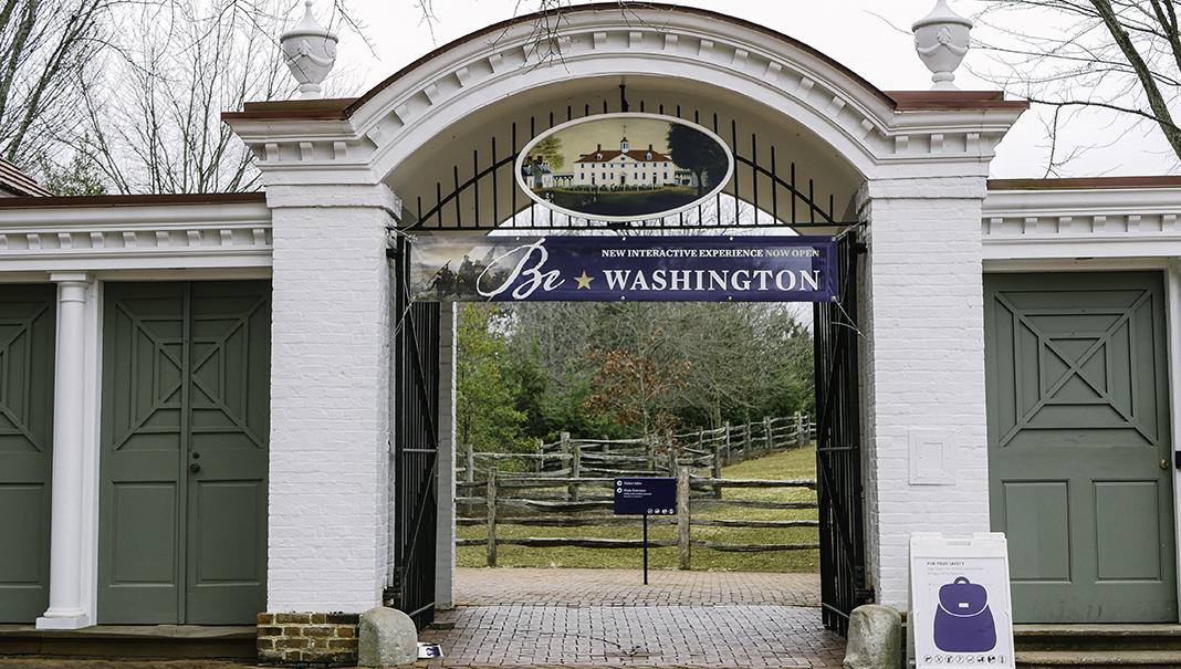 La propriété de Mount Vernon était la plantation de George et Martha Washington.