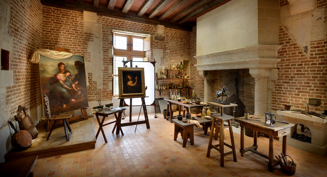 2. Atelier de peinture© Léonard de Serres