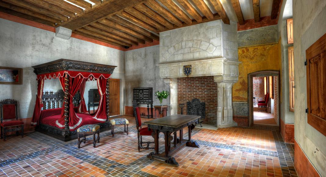 3. la chambre de Léonard de Vinci© Léonard de Serres