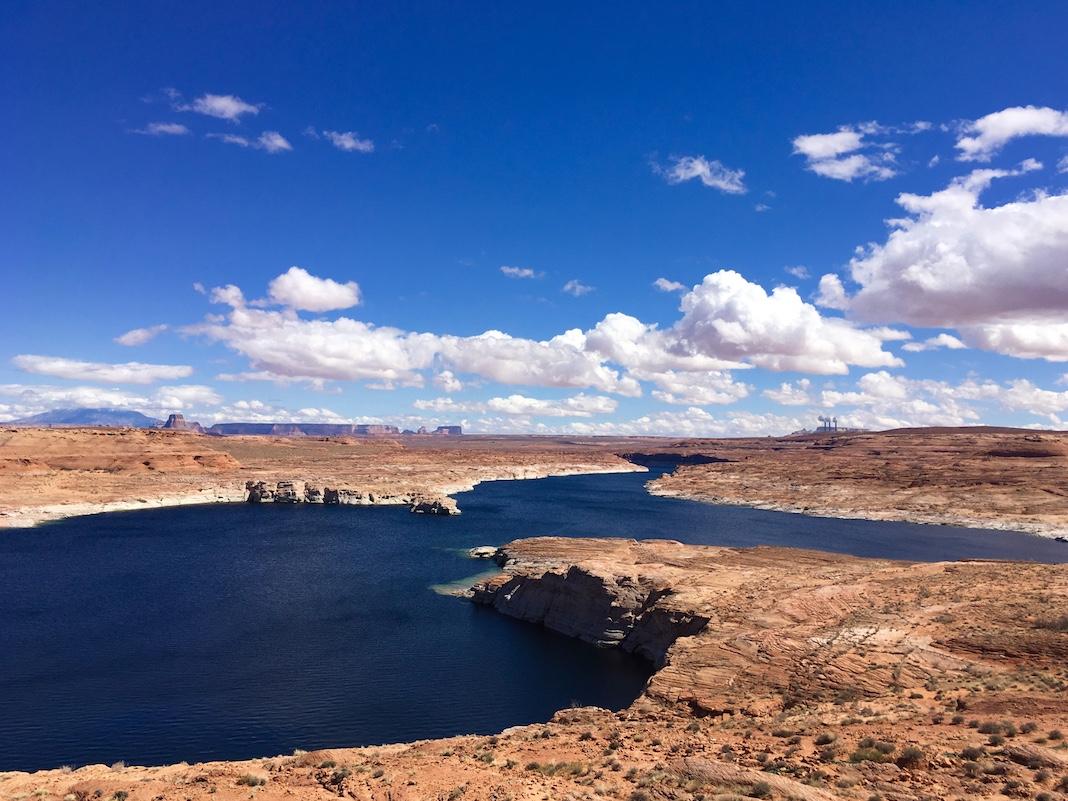 Le lac Powell. (Crédit: Klervi Drouglazet)
