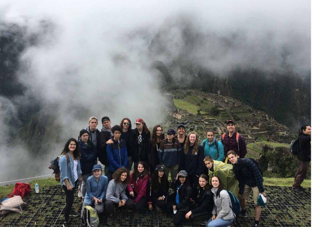 Les élèves de 2nde au Pérou.