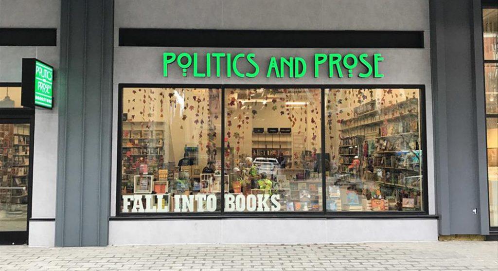 Vous pouvez ce magasin à deux adresses à DC. (Politics and Prose)